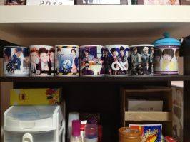 My Kpop Mugs by KpopGurl
