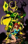 Loki and Lorelei Colored by statman71