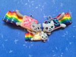 Nyan Cat's Family by TheFreckledLeaf