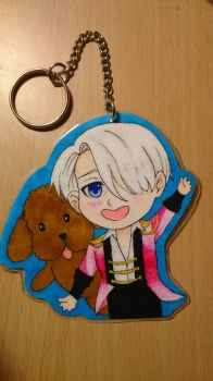 Victor keychain.  by ARS9mm