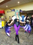 Darkstalkers Morrigan Aensland Cosplay by GamerZone18