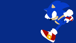 Free Vector Wallpaper: Sonic the Hedgehog by Crestie