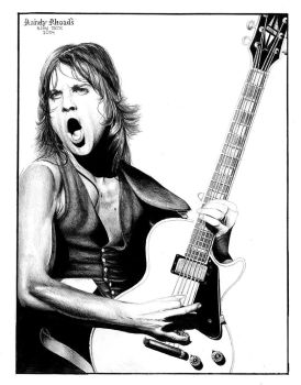 Randy Rhoades by trephinate