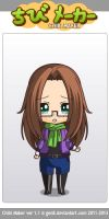 Me  (my hair is not that dark) by gabrielle44