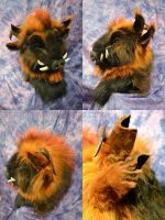 Fursuit Demon Boar by Beetlecat