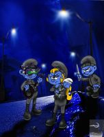 The Smurfs Right Activists by TheSorceressRaven