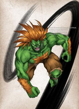 Street Fighter Blanka by virak