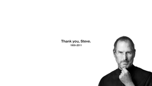RIP Steve Jobs Wallpaper by Arvid23