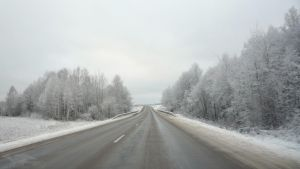 Winter road by axe-ql