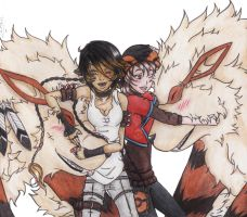 __Because just love Arcanine__ by LobinhahChalegre