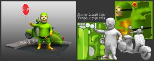 jhony lowpoly by ydod