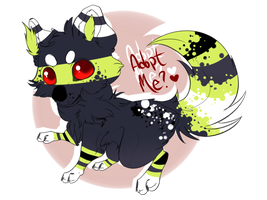 Point Puppy Adopt! -  O P E N - by Crosstied