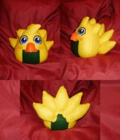 Cosplay Onigiri - Chocobo by merlinemrys