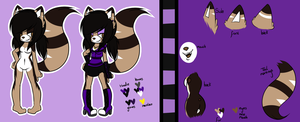 Katherine the cat - New Fursona by heavenlydevils