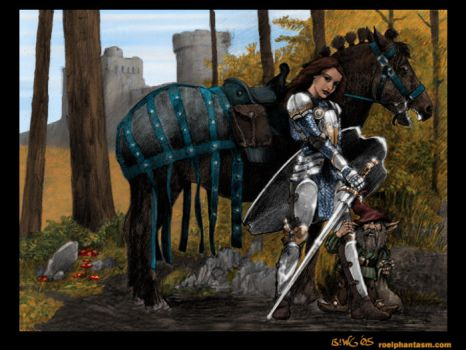 Autumn Knight by BenjaminGalley