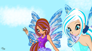 CE: Luna and Sofia sirenix by MissKaytheLaReveuse