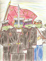 TMNT-1987-United States Marine Corps by Mighty-turtle-1