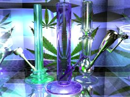 3D Bongs by lol-o-mat