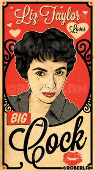 Liz Taylor Loves BC by roberlan