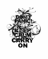 don't panic by CHIN2OFF