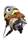 Attack on Minion by flunnydesign