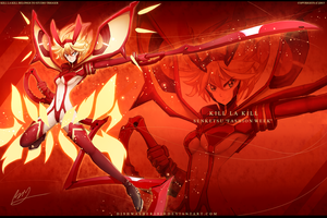 Kill La Kill : Senketsu Fashion Week by dishwasher1910