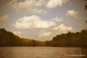 Lake and Clouds by AppareilPhotoGarcon
