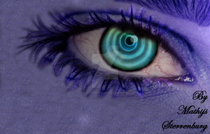 Blue Ray Eye by MyBurningEyes