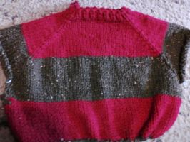 Freddy Kreuger Sweater WIP by Creativity-Squared