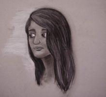 Charcoal Girl by BreezyTheUndead