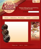 Chocolate Web Design by zarengo
