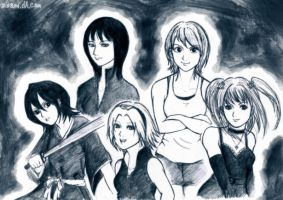 .: ladies :. by zsami