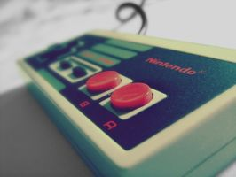 Old School Nintendo by xniiicole