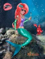 Ariel - Scene Princess by kharis-art