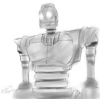 The Iron Giant by Onigami-Sama