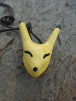 Keaton Mask Necklace by meanlilkitty