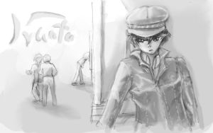 Naoto is a stalker by Atata