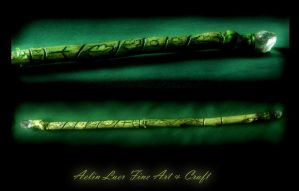 Elvish Oak Wand by Gwillieth