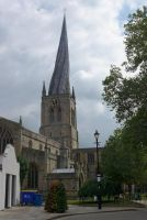 Chesterfield Church Crooked Spire by bobswin