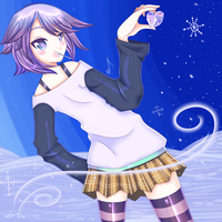 Ice Heart Mizore by HartNote