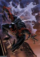 Spiderman 2099 by CeeBee73