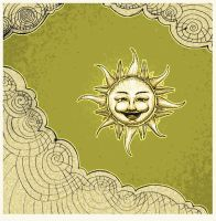 Ornamental Sun by BluE3