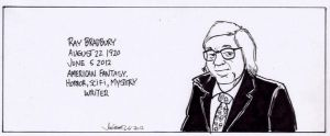 RIP Ray Bradbury by RABBI-TOM