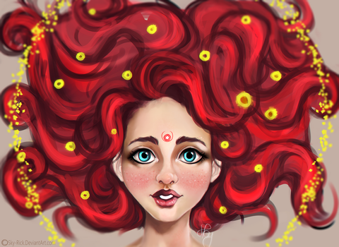 Red head by Sky-Rick