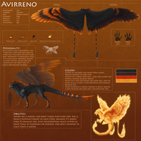 Avirreno - Reference Sheet 2.0 by AverrisVis