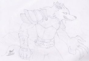 Huargen Sketch by Zomain
