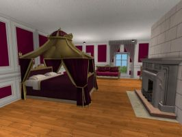 Green Spring Palace Master Bedroom by juhhmi