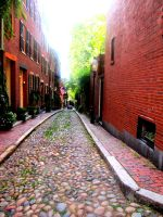 An old alley in an old town by Alice-Wilhemia-09