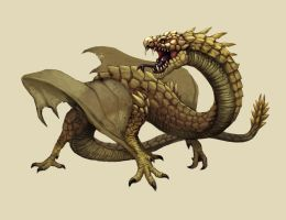 Snake wyvern by FonteArt