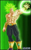 Broly by DBZwarrior